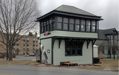 1907 Railroad Switching Station: Restored by RPBI 2012